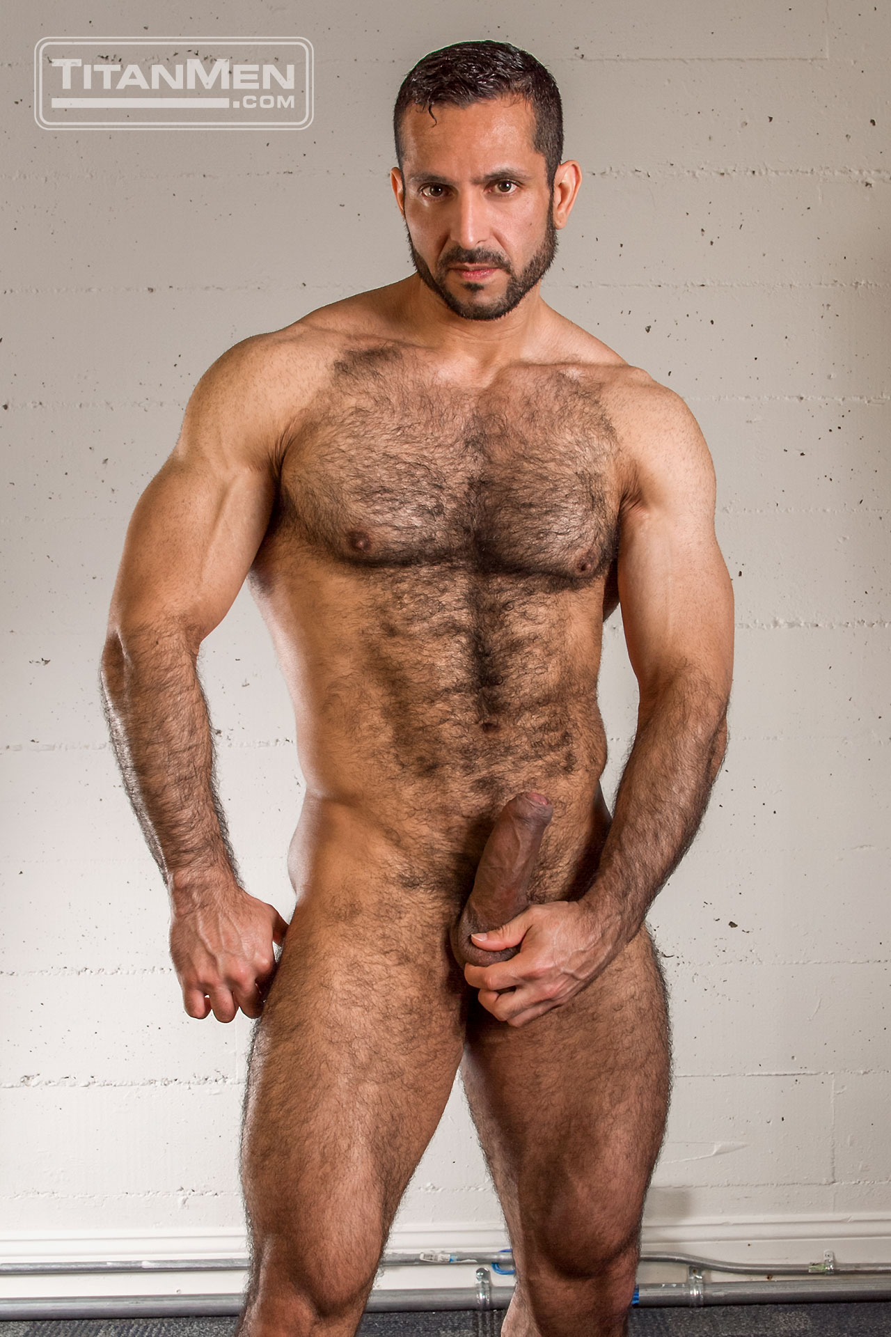 Hot hairy naked men have found